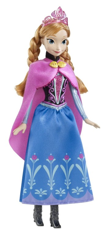 Post image for Amazon-Disney Frozen Sparkle Anna of Arendelle Doll $12.99