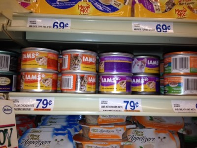 Post image for FREE IAMS Wet Cat Food At Food Lion