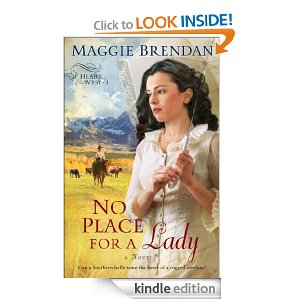 Post image for Amazon Free Book Download: No Place for a Lady (Heart of the West Book #1)