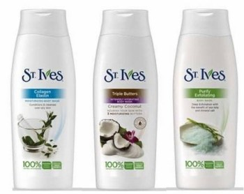 Post image for New St. Ives Printable Coupon- Body Wash $.82