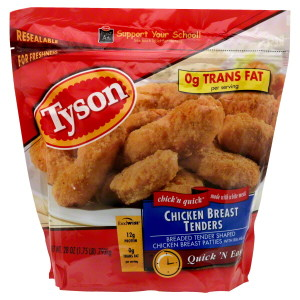 tyson chicken breast tenders