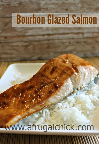 Post image for Bourbon Glazed Salmon