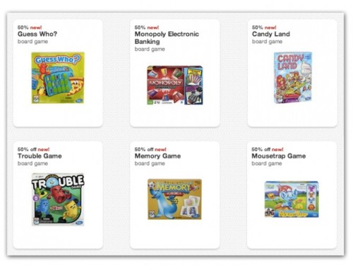 Post image for Target: New High-Value Cartwheel Offers—Save 50% on Candy Land and More!