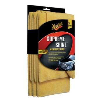 Post image for Meguiar's Supreme Shine Microfiber Cloths (Pack of 3) $4.57
