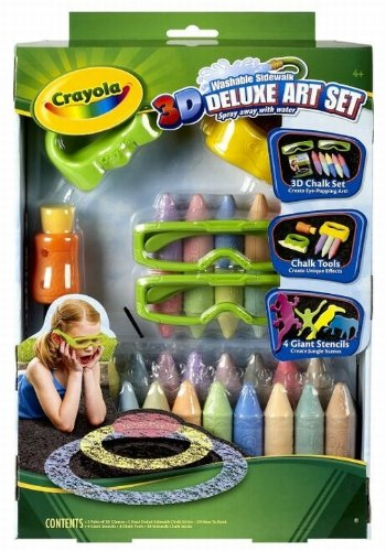 Post image for Amazon-Crayola 3D Deluxe Art Set $11.54