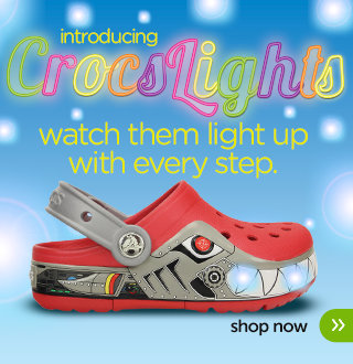 Post image for New CrocLights PLUS FREE Shipping on Orders $25+