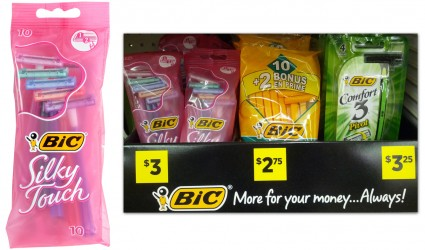 Post image for Free Bic Razors at Dollar General!