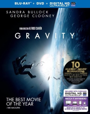 Post image for Amazon-Gravity (Blu-ray + DVD + UltraViolet Combo Pack) (2014) $16.99