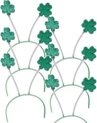 Post image for Amazon- St. Patrick's Day Green Shamrock Head Boppers Set of 6 $5.61