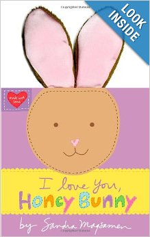"Post image for ""I Love You, Honey Bunny"" Board Book $7.19"