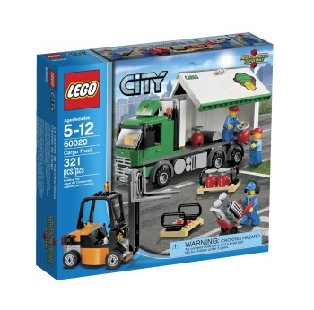 Post image for Amazon-LEGO City Cargo Truck Toy Building Set $27.36