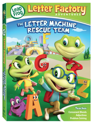 Post image for Target: Leapfrog Letter Factory Adventures DVD $2.99
