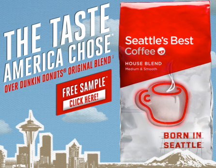 Post image for FREE Seattle's Best House Blend Ground Coffee Sample (Facebook)