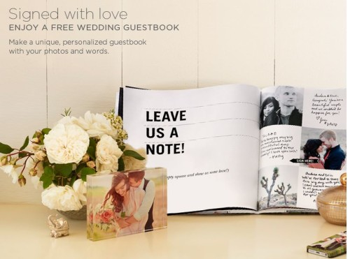 Post image for GONE: Shutterfly: FREE Wedding Guest Book ($39.99 Value)