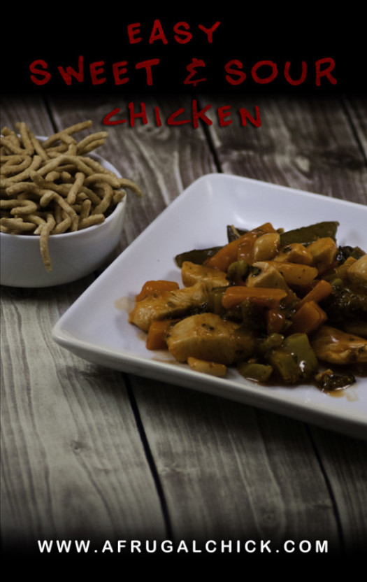 Post image for Easy Sweet Sour Chicken | Easy Sweet and Sour Chicken Recipe