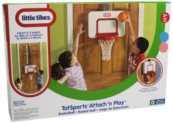 Post image for Amazon-Little Tikes Attach 'n Play Basketball $12.00