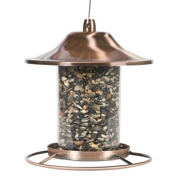 Post image for Amazon- Panorama Bird Feeder, Copper $16.78