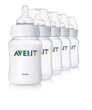 Post image for Amazon-Philips AVENT BPA Free Classic Polypropylene Bottles(set of 5) $15.99