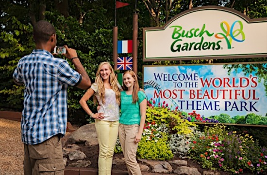 50% Off Single And Multiple Day Admission To Busch Gardens Williamsburg And  Water Country