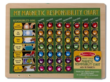 Post image for Amazon-Melissa & Doug Deluxe Magnetic Responsibility Chart.
