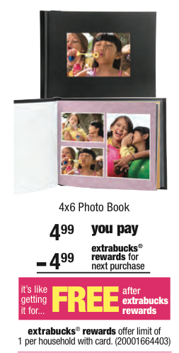 Post image for Free Photo Book at CVS