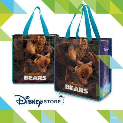 Post image for The Disney Store: Free Disney Nature Bears Reusable Tote Bag On Earth Day