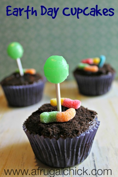 Post image for Earth Day Cupcakes