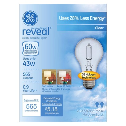 Post image for Target: GE Reveal Light Bulbs As Low As Free