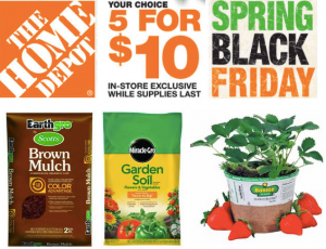 Post image for Home Depot Spring Black Friday Sale- WOW