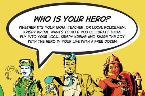 Post image for Krispy Kreme Hero Appreciation Day- Buy One Get One Free