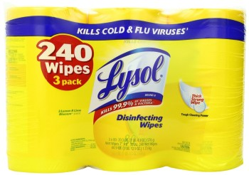 Post image for Amazon: Lysol Disinfecting Wipes 3-Pack Only $7.48 Shipped (Just $2.49 Per Large Canister)