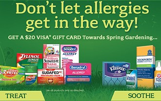 Post image for $20 Rebate on Allergy Medication = Moneymaker at Harris Teeter