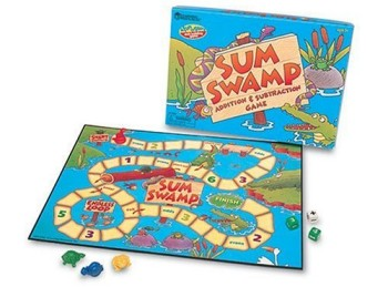 Post image for Amazon-Learning Resources Sum Swamp Game $7.99