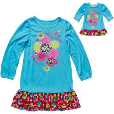 Post image for Together Forever, Matching Girl and 18″ Doll Pajama Set (Fits American Girl Dolls) $8.00