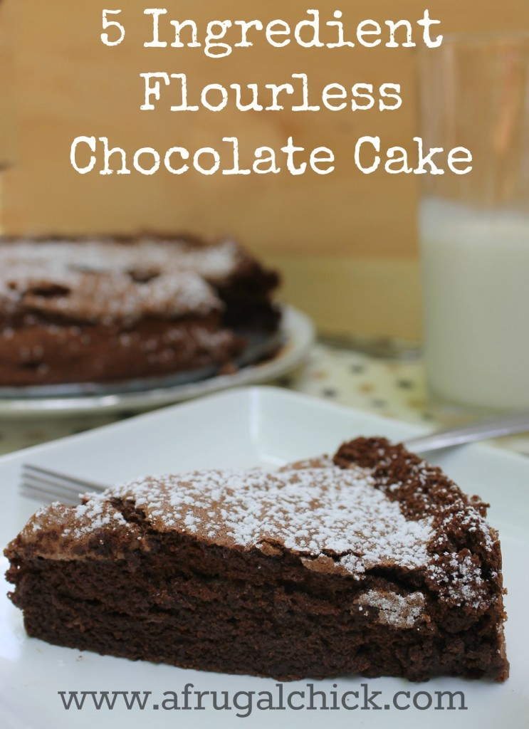 Cake Made Without Flour Recipe