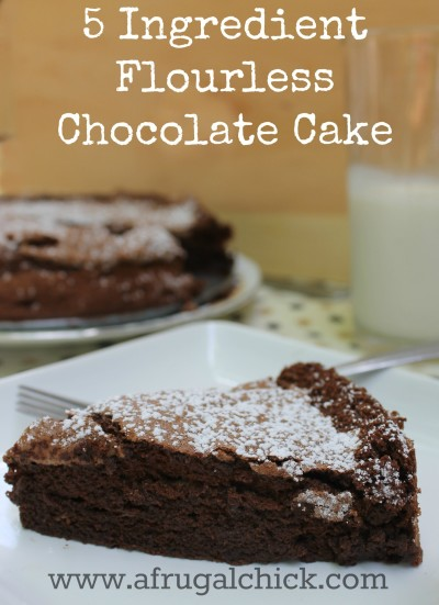Post image for Flourless Chocolate Cake Recipe Easy