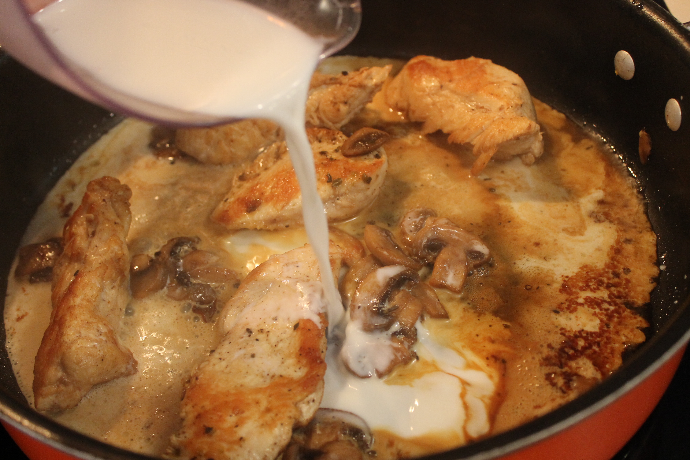 Chicken Marsala With Mushrooms Recipe - A Frugal Chick