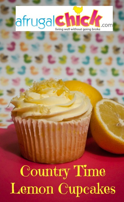 Moist Lemon Cupcake Recipe
