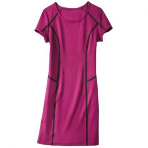 Mossimo® Women's Con Scuba Dress