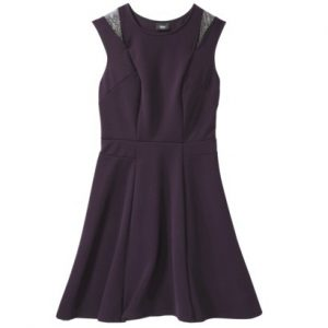 Mossimo® Women's Sleeveless Mesh Detail Dress