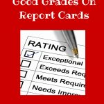 Rewards For Good Grades On Report Cards