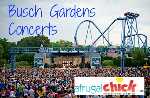Post image for Concerts At Busch Gardens