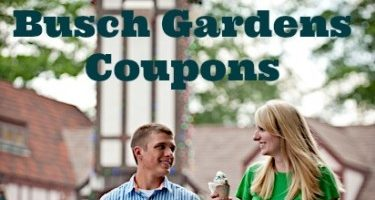 Busch Gardens Williamsburg Coupons
