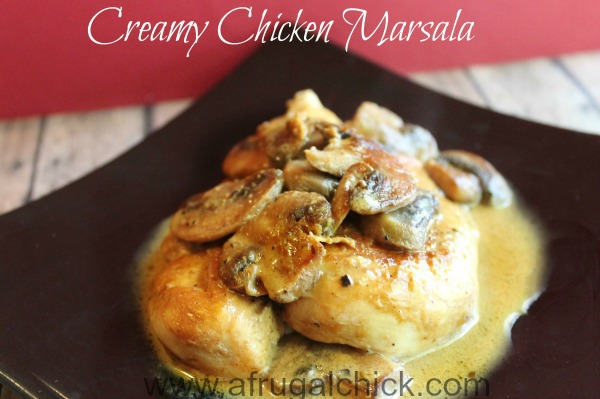 Post image for Chicken Marsala With Mushrooms Recipe
