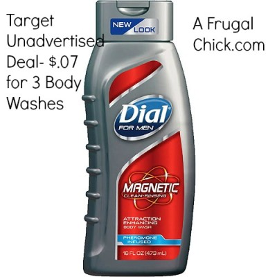 Post image for Target: 3 Dial Men's Body Washes for $.07