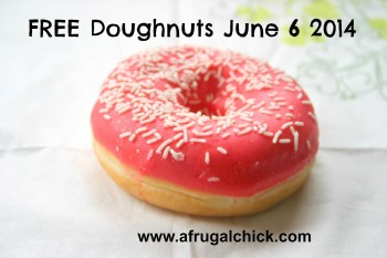 Post image for Free Doughnut Day