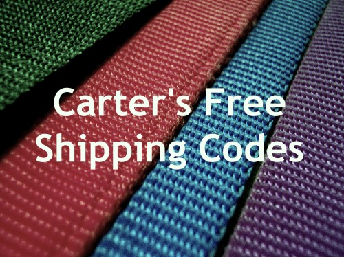 Post image for Free Shipping Code for Carters