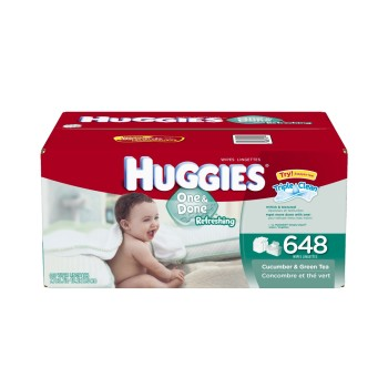 Post image for Amazon: Huggies One And Done Scented Wipes As Low As $.01 Per Wipe