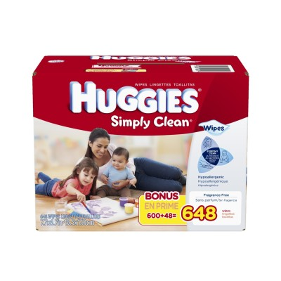 Post image for Stock Up Price: Huggies Simply Clean Fragrance Free Baby Wipes $.01 Per Wipe