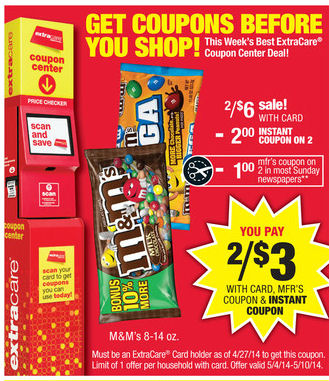 Post image for CVS: New Coupon Means $1 M & M Bags Next Week